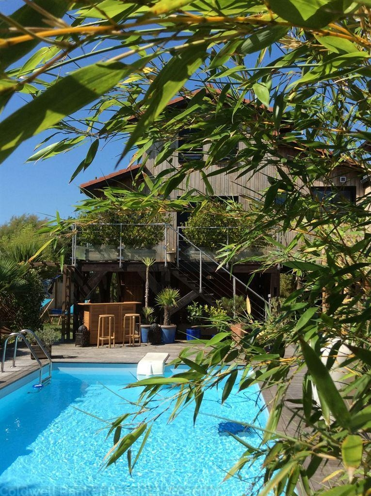 Recent Wooden Villa With Swimming Pool